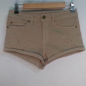 American Rag Cie Beige Denim Shorts